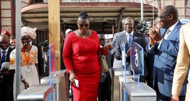 Lancement TER à la gare de Dakar