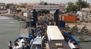 Traversée de la Gambie