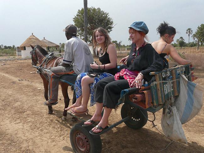 balade calèche Sénégal