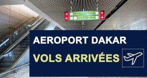 horaires departs vols aéroport Dakar
