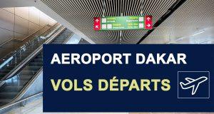 horaires arrivées vols aéroport Dakar