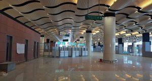 Fin de grêve aeroport Blaise Diagne Diass