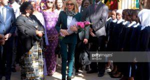 Brigitte Macron île de Gorée