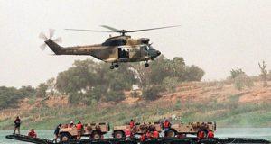 crash d'un hélicoptère militaire