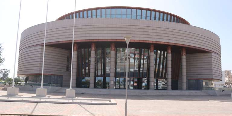 Le Musée des Civilisations noires à Dakar
