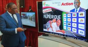 Chaine de télévision au Sénégal